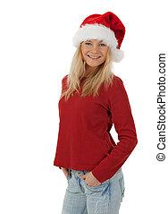 偶然, クリスマス, 女の子の微笑