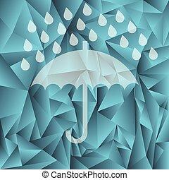傘, シルエット