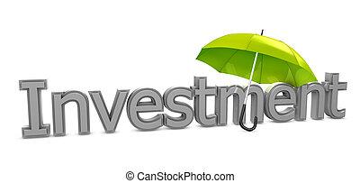 傘, 投資