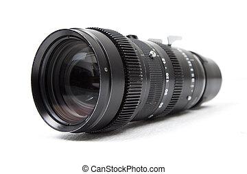 傳真照片, 縮放照像机, 透鏡