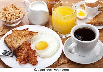 傳統的早餐