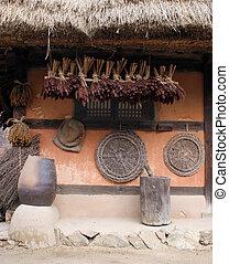 傳統, 韓國語, 房子