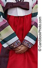 傳統, 韓國語, 衣服