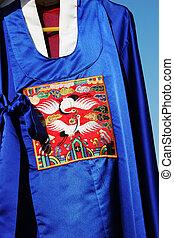 傳統, 韓國語, robes., 南方