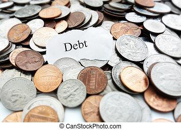 債務, 硬幣