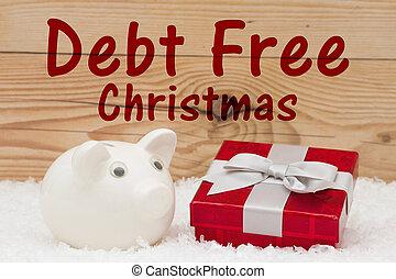 債務, 聖誕節, 自由