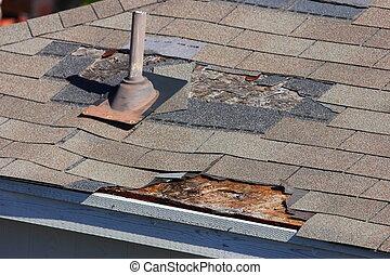 傷つけられる, 屋根