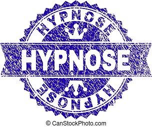 傷付けられる, hypnose, 切手, textured, シール, リボン