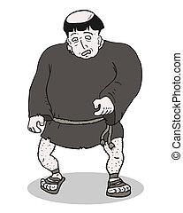 僧侶, 肥胖