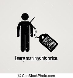 價格, 有, 每, 人