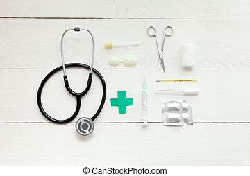 儀器, 醫學,  retro