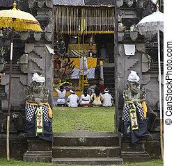 儀式, 寺廟