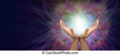 優しい, あなた, エネルギー, 治癒, 発送
