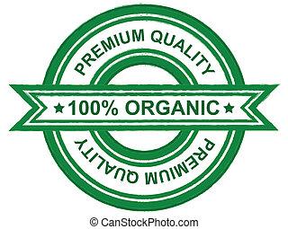 優れた, 品質, 有機体である