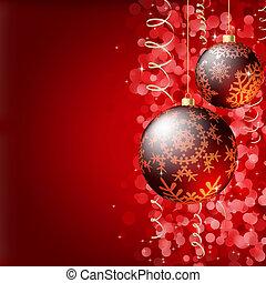 優雅である, クリスマス, 陽気, バックグラウンド。