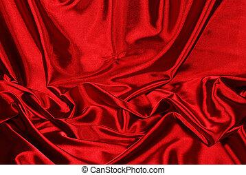 優雅である, サテン, 赤い背景