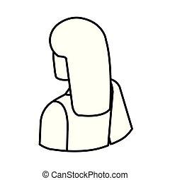 優雅である, 女性実業家, 特徴, 背中, avatar