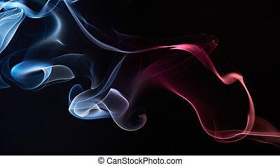 優雅である, 形, 煙