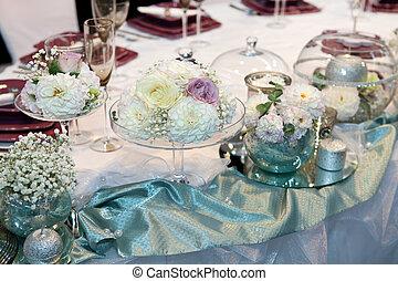 優雅である, 結婚式, 夕食