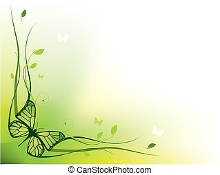 優雅である, 花のボーダー