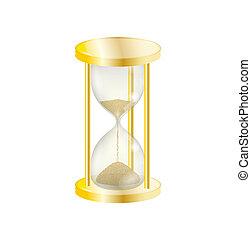 優雅である, sandglass, 金