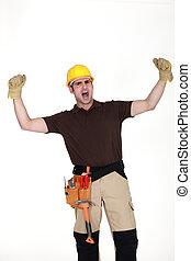 元気づけること, 建設, 労働者