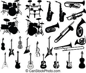 元素, 音樂