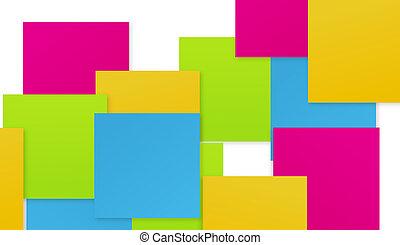 充分, 顏色, 摘要, 相互作用, 圖表