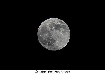 充分, moon.