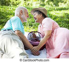 先輩, ピクニック, 恋をもて遊ぶ, -