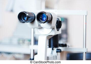 光學, 醫學的裝置, 為, 眼睛檢查