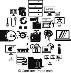 光學, 驅動, 圖象, 集合, 簡單, 風格