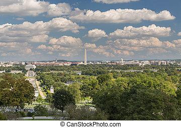 ∥, 光景, の, washington d.c., から, アーリントンの墓地