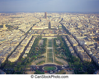 光景, 上に, パリ, から, ∥, エッフェル, tower.