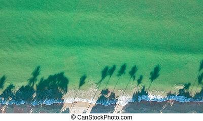 光景, 浜, 風景, タイ, 航空写真, krabi, 海岸, ∥あるいは∥