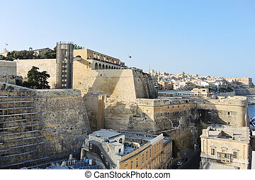 光景,  Valletta, マルタ, 建物