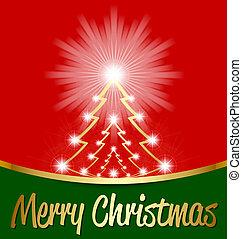 光沢がある, 木, クリスマス