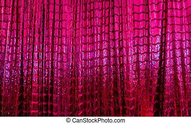 光沢がある, 紫色, 明るい, 反射, ピンク, カーテン, metalic
