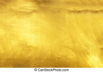光沢がある, 葉, 黄色, 金