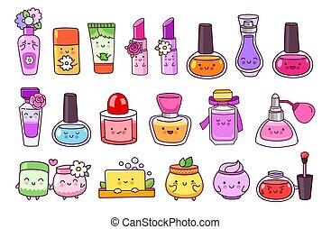 光沢, 口紅, ジャー, shampoo., 釘, 化粧品, 唇, ポーランド語, 香水, 石鹸, クリーム
