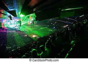 光線, コンサート