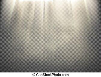 光線, パターン