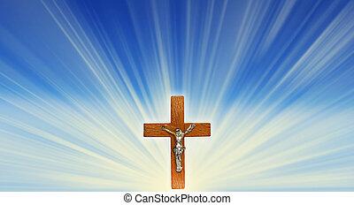 光線, 十字架像