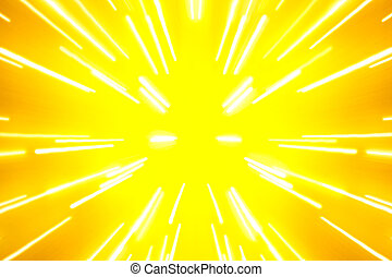 光線, 散布, 中心, 背景