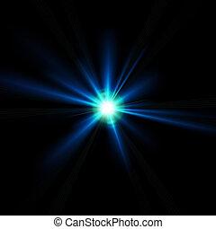 光線, 火炎信号