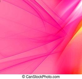 光線, 背景, ピンク, ライト
