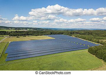 光起電, パネル, エネルギー, 太陽