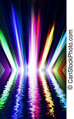 光, 上色, 聚光燈