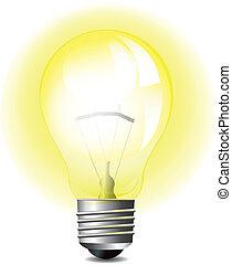 光, 发光, 灯泡