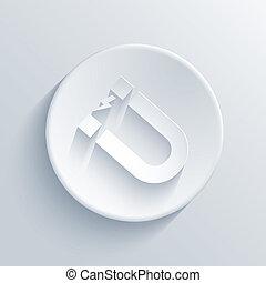 光, 环绕, 矢量, eps10, icon.